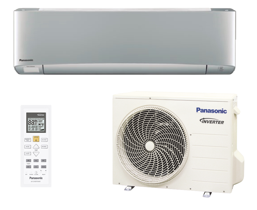 Инверторный кондиционер Panasonic до 35 кв.м CS/CU-XZ35TKEW