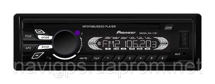 Автомагнитола MP3 Pioneer (Китай) 1181