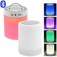 Портативная Bluetooth-колонка S-66, светильник (сенсорный), фото 1