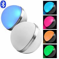 Портативная колонка М8 Bluetooth матовый, светильник RGB, радио, фото 1
