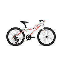 """Велосипед Ghost Lanao R1.0 20"""" ,бело-красный, 2019 (Германия)"""