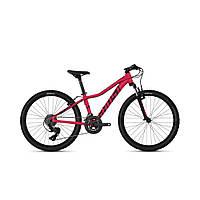 """Велосипед Ghost Lanao 2.4 24"""" , красно-черный, 2019 (Германия)"""