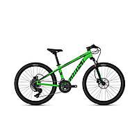 """Велосипед Ghost Kato D4.4 24"""" , зелено-черный, 2019 (Германия)"""