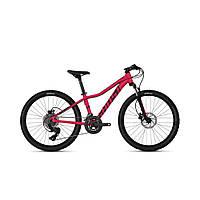 """Велосипед Ghost Lanao D4.4 24"""" , малиново-черный, 2019 (Германия)"""