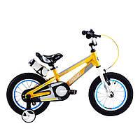 """Велосипед Royal Baby SPACE NO.1 14"""", OFFICIAL UA, оранжевый (Китай)"""