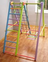 Игровой складной спортивный комплекс «Кроша» цветной