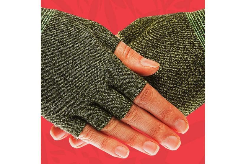 Подперчатки HANDYboo при заболеваниях кожи рук ACTIVE зеленые