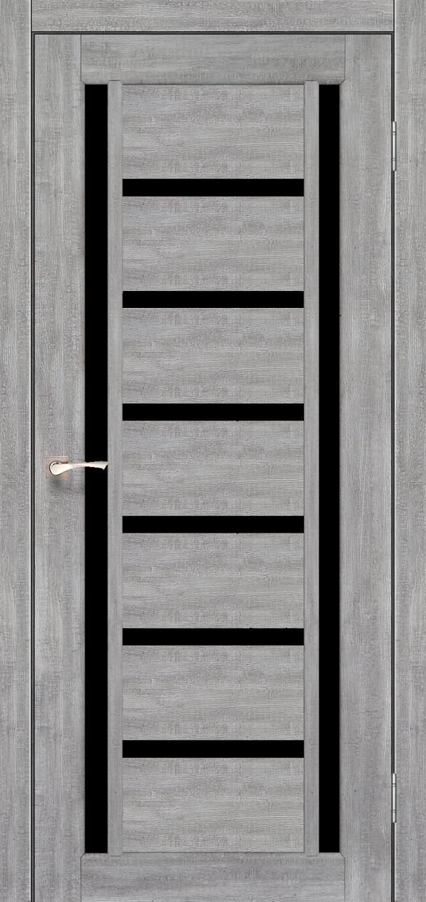 Двери KORFAD VLD-02 Полотно+коробка+2 к-та наличников+добор 100мм, эко-шпон