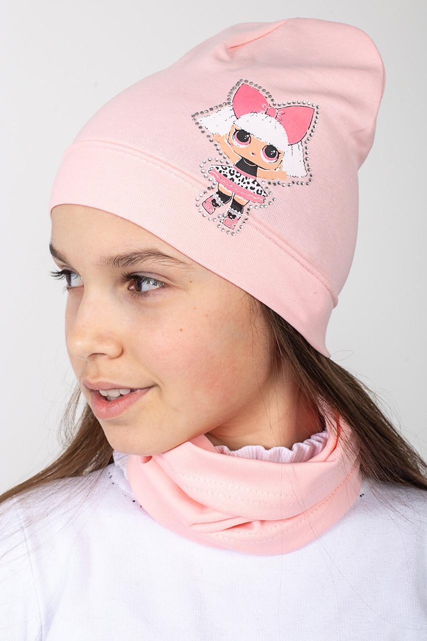 Стильный весенний комплект для девочки - Куколка LOL - Артикул 2427