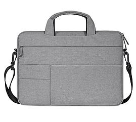 Сумка чехол для Macbook Air/Pro 13,3'' - серый металлик