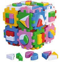 """Развивающая игрушка Куб-сортер """"Умный малыш """"2650 Технок"""