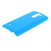Чехол накладка бампер для LG G3 Stylus D690 Dual голубой, фото 1