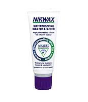 Пропитка для изделий из кожи Nikwax Waterproofing Wax for Leather 100ml (2139) - nikwax purple