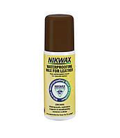 Пропитка для изделий из кожи Nikwax Waterproofing Wax for Leather Brown 125ml (2142) - nikwax brown