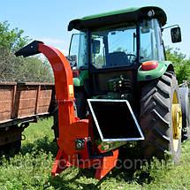 """Щепорез деревини """"Shkiv"""" 130 мм тракторний під ВОМ на 8 шліців, фото 2"""