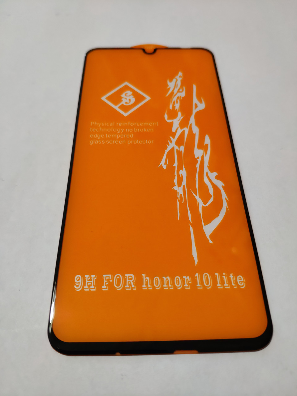 Захисне скло 6D для Honor 10 Lite Full Glue Чорне