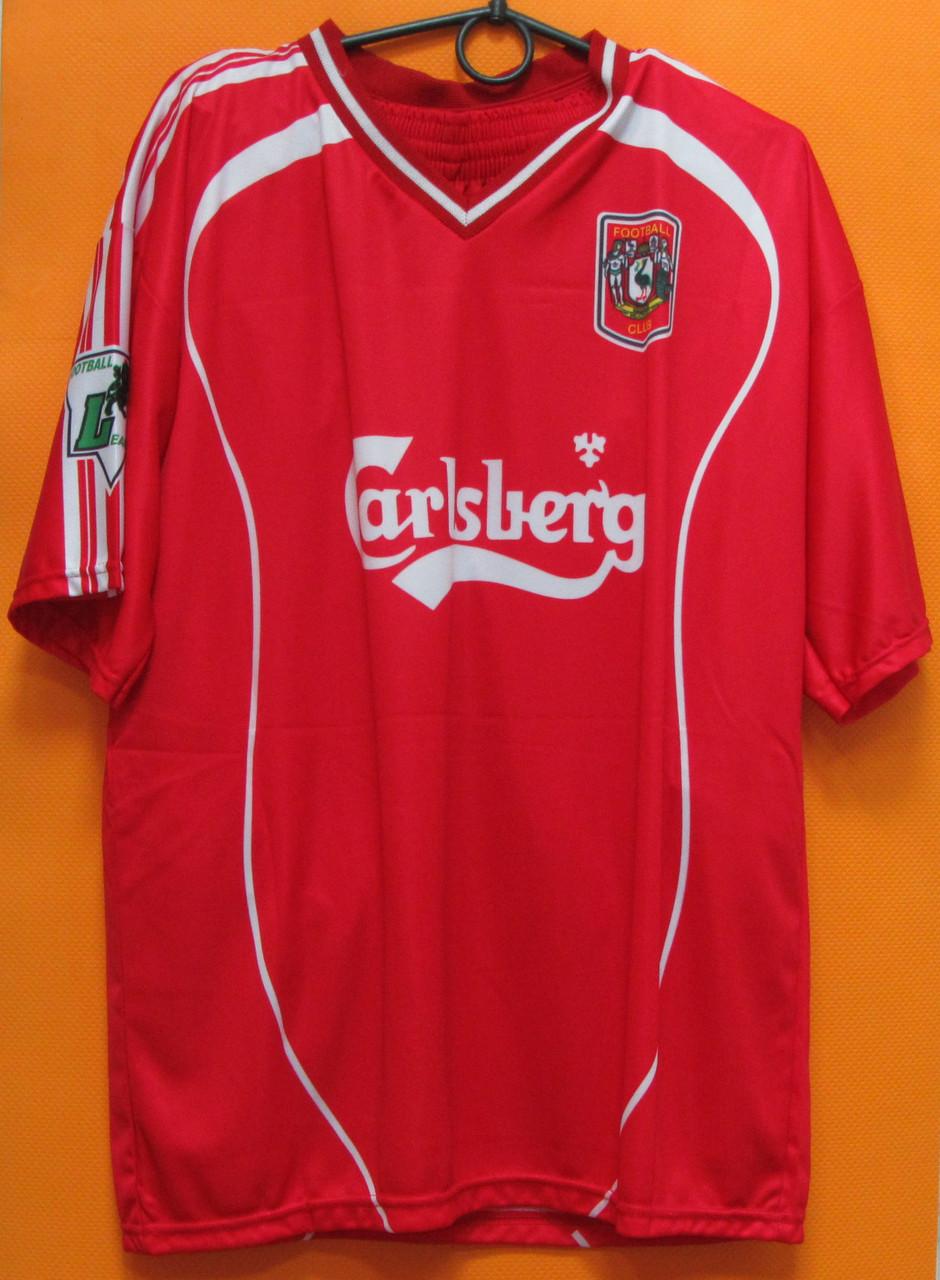 Футбольная форма Liverpool Voronin №10 красная