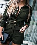 Женский стильный комбинезон (3 цвета), фото 5