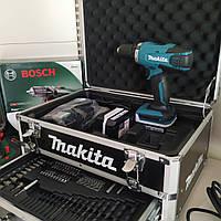 Дрель / шуруповерт Makita 14.4V DF347DWEX3 набор інструментов!