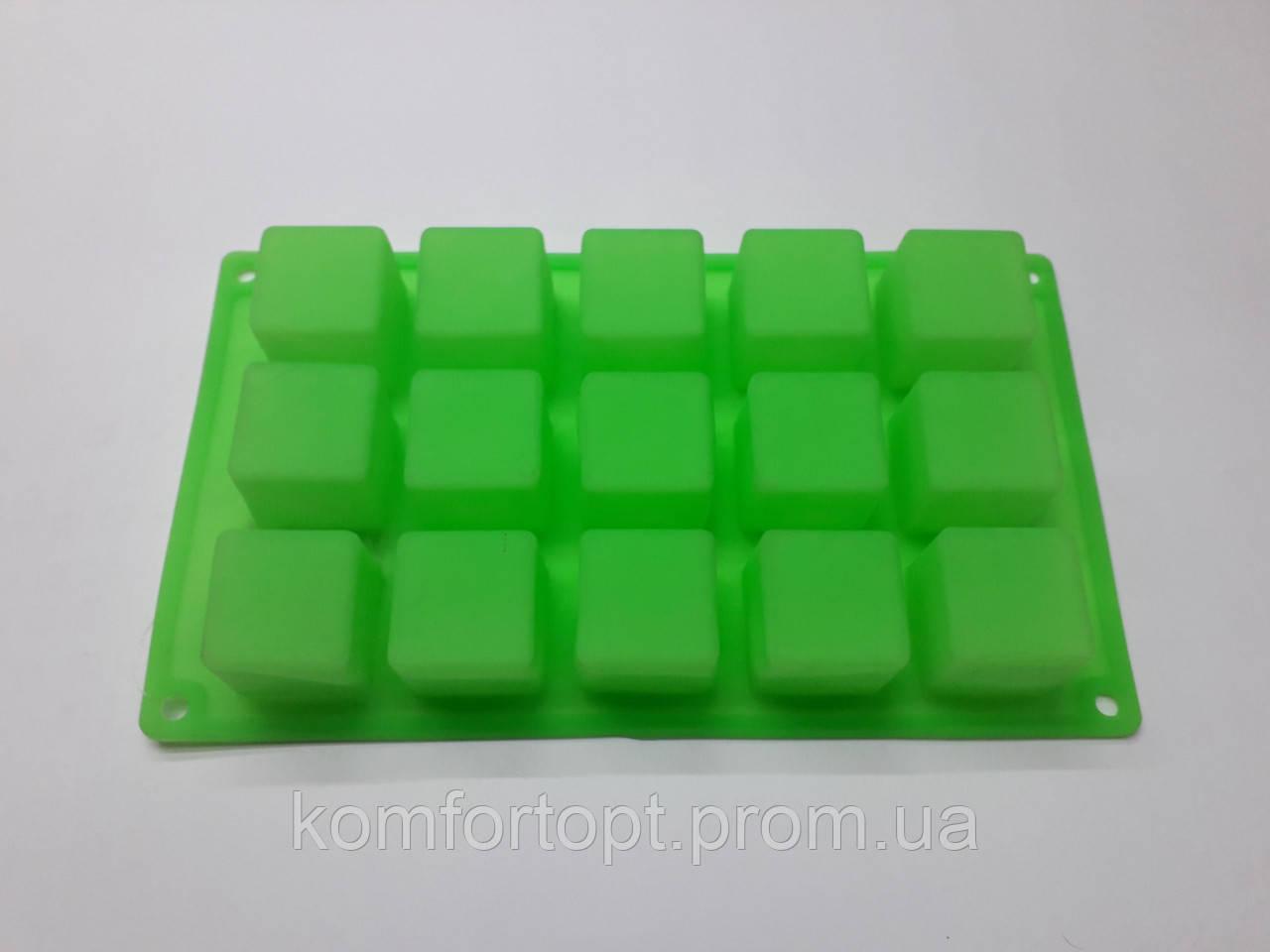"""Форма силиконовая для выпечки  """"Куб"""" 25м х 14см"""