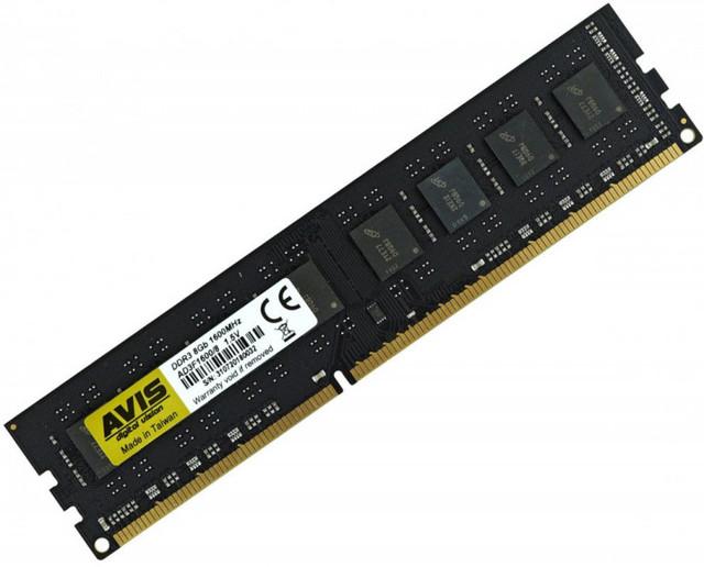 ОЗП ДДР3 8 Гб Оперативна пам'ять 8Gb AVIS DDR3-1600