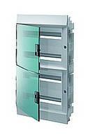 Mistral41F шафа вбудований, 72 (4х18) модулів, прозора двері