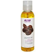 """Масло жожоба NOW Foods, Solutions """"Jojoba Oil"""" для кожи, тела и волос (118 мл)"""
