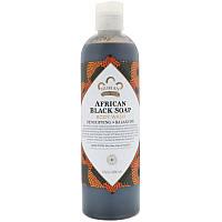 Африканских черное мыло для тела, Nubian Heritage (384 мл)