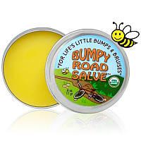 Бальзам для снятия синяков и ушибов Sierra Bees, Bumpy Road Salve, c пчелиным воском (17 г)