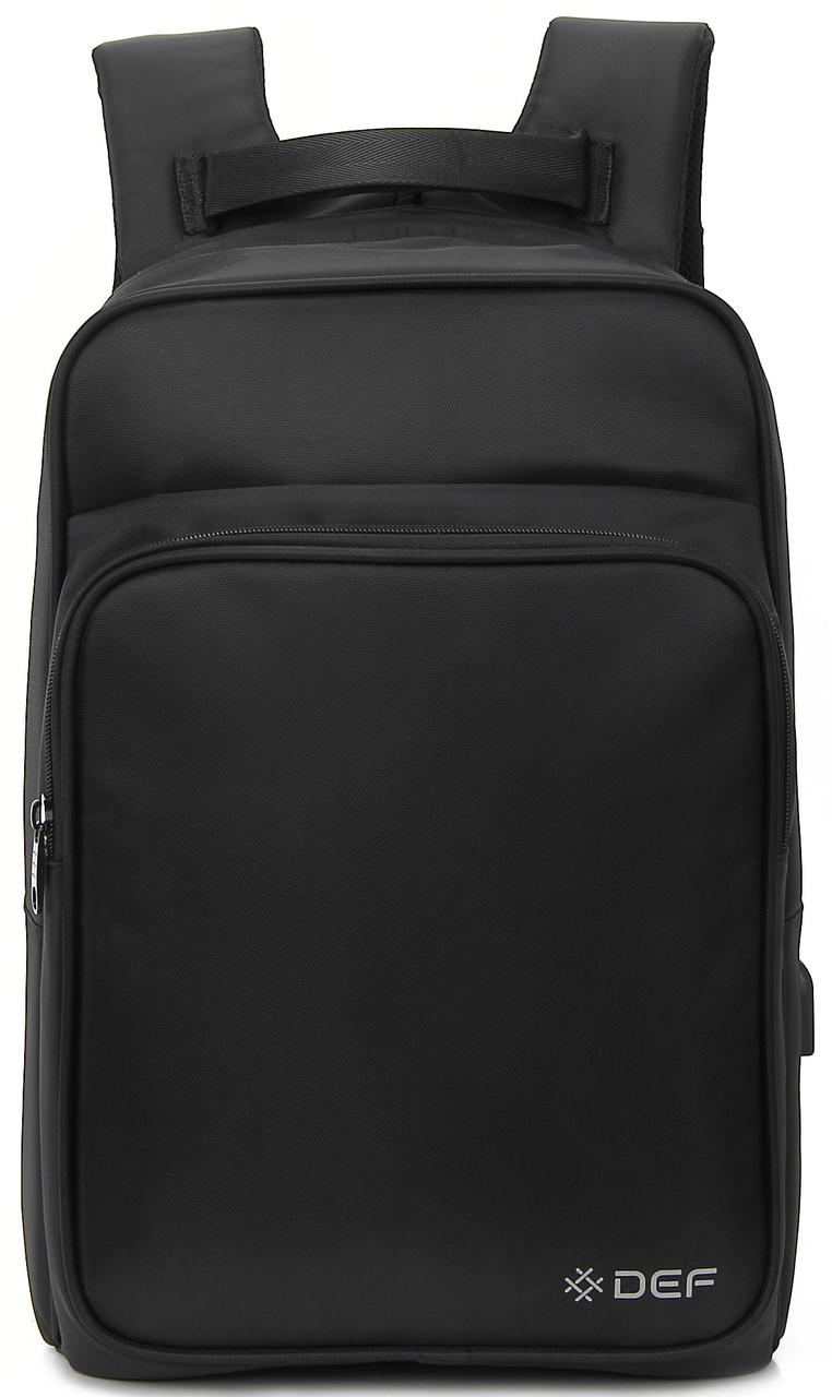 Рюкзак DEF Anti-theff DW-02 Чорний
