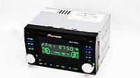 Автомагнитола пионер Pioneer 9902 2din USB SD AUX пульт RGB подсветка