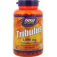 Трибулус, Tribulus, Now Foods, Sports, 1000 мг (180 таблеток)
