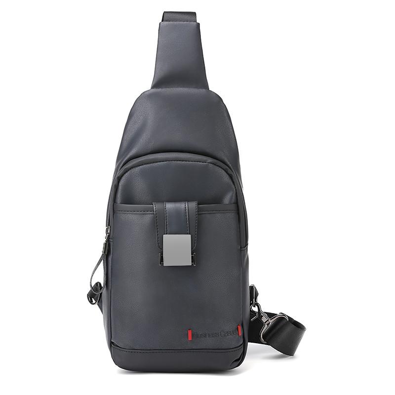 Однолямочный городской рюкзак-барсетка Arctic Hunter XB00093, влагозащищённый, 5л