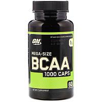 Аминокислотный комплекс BCAA Optimum Nutrition, 1000 Caps (60 капсул)