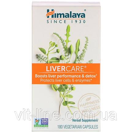 Himalaya Herbal Healthcare, Liver Care (забота о печени), 180 вегетарианских капсул, фото 2