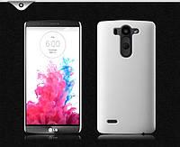 Чехол накладка бампер для LG G3s Dual D724 Beat белый