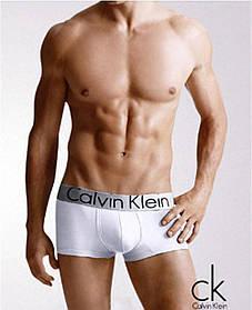 Мужские трусы боксеры транки шорты брендовые Кельвин Кляйн модель Steel 5 цветов хлопок