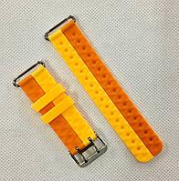 Силиконовый ремешок для детских часов Smart Kids Q60 / Q80 / Q90 / Q100 - Orange&Yellow