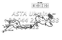 Гидравлические элементы (дис 10968, с защитным клапаном), экскаватор-Е1