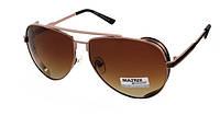 Очки солнцезащитные коричневые Авиаторы Matrix Polaroid
