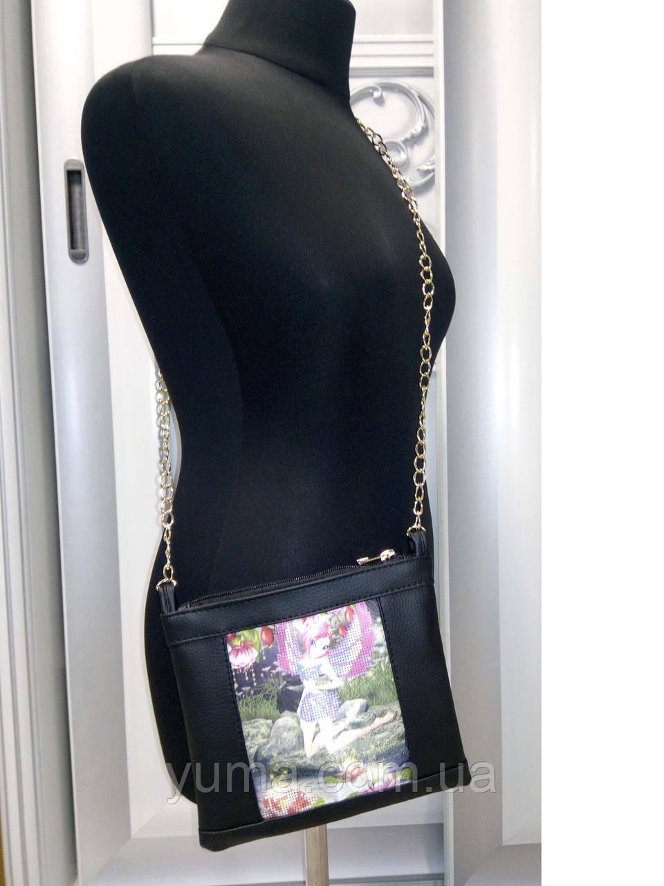 Сумочка детская  для вышивки бисером модель  Мия 1