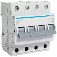 Автоматичний вимикач 4P 6kA C-20A 4M