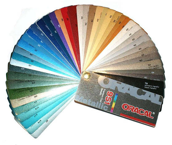 Плівка  с/к ORACAL 751 серія автомобільна металік глянець, рул.1х50м, фото 2