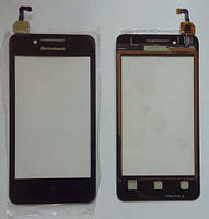 Lenovo A319 сенсорний екран, тачскрін чорний