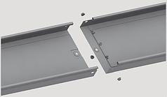 Лоток неперфорированный СКаТ Standard 80х35 мм