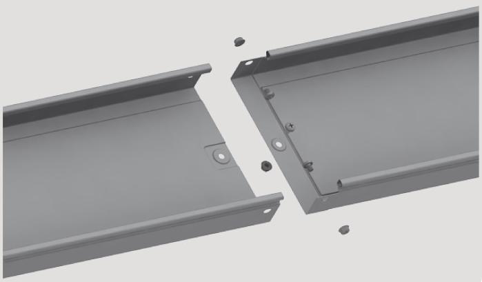 Лоток неперфорированный СКаТ Standard 150х35 мм