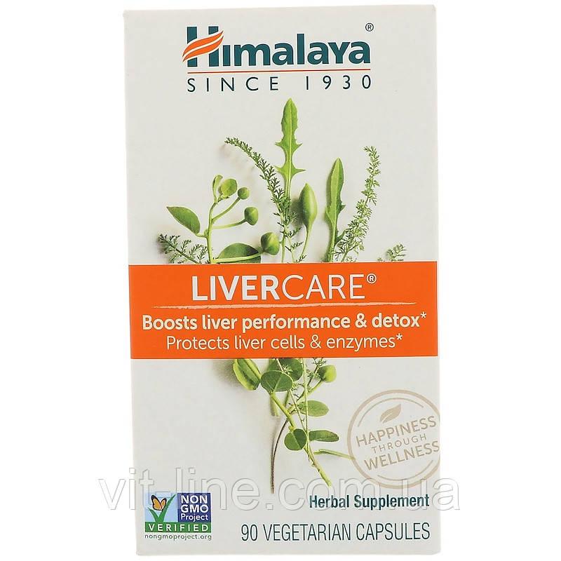 Himalaya Herbal Healthcare, Підтримка печінки, 90 капсул у рослинній оболонці