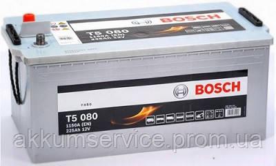Аккумулятор автомобильный Bosch Truck 225AH 1150А (T5 080)