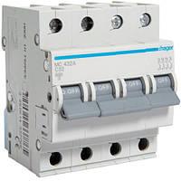 Автоматичний вимикач 4P 6kA C-32A 4M