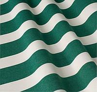 Уличная ткань полоса зелено-белая. Дралон. Испания LD 84336 v8